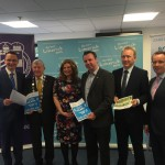 Pictured at the Launch of the was Patrick Donovan TD, Minister of State for Tourism and Sport; Michael Hourigan Mayor of Limerick; Aine McCarthy, Barringtons Hospital; John Cleary, Great Limerick Run, Mark O'Connell W2 Consulting & Joe Leddin Great Limerick Run